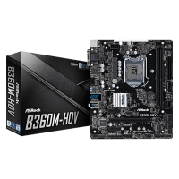 Asrock B365M-HDV 9th Gen Super Alloy Micro ATX Motherboard