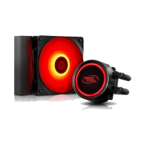 DEEPCOOL GAMMAXX L120T RED CPU liquid Cooler