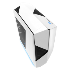 NZXT. Noctis 450 White & Blue