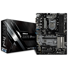 Asrock Z370 Pro4 USB 3.1 Intel 8th Gen