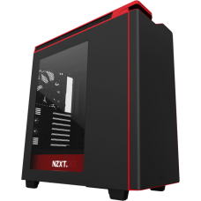 NZXT. H440 Black & Red
