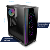 Antec NX600 Mid-Tower Gaming Case