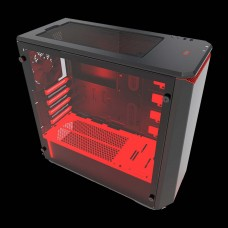 Phanteks PH-EC416PSTG_BR Eclipse P400S Black/Red