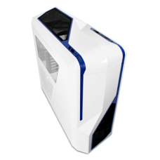 NZXT. Phantom 410 White & Blue